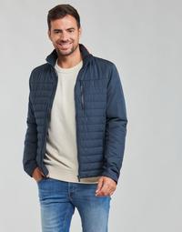 Textiel Heren Wind jackets Helly Hansen CREW INSULATOR JACKET 2.0 Marine