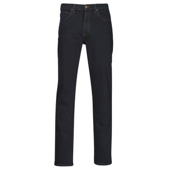 Textiel Heren Straight jeans Lee BROOKLYN STRAIGHT Blauw / Zwart