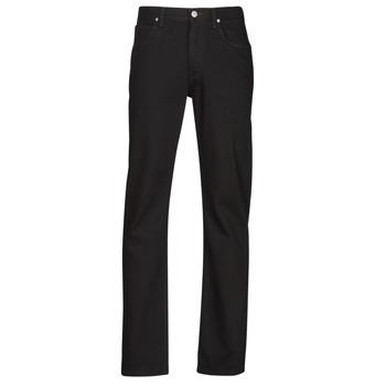 Textiel Heren Straight jeans Lee BROOKLYN STRAIGHT Zwart