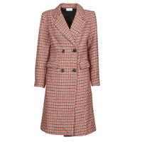 Textiel Dames Mantel jassen Betty London PIVENE Zwart / Rood