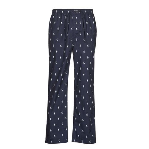 Textiel Heren Pyjama's / nachthemden Polo Ralph Lauren PJ PANT SLEEP BOTTOM Marine