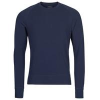 Textiel Heren T-shirts met lange mouwen Polo Ralph Lauren LS CREW SLEEP TOP Marine