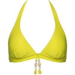 Textiel Dames Bikinibroekjes- en tops Lisca Driehoekig badpak topje zonder beugel Ibiza Lavendel