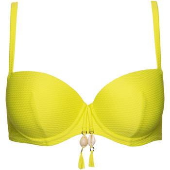 Textiel Dames Bikinibroekjes- en tops Lisca Voorgevormd badpak top Ibiza Lavendel