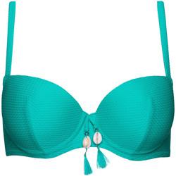 Textiel Dames Bikinibroekjes- en tops Lisca Voorgevormd badpak top Ibiza Donkergroen