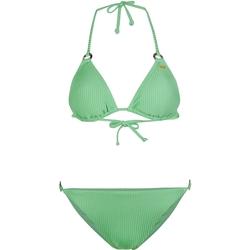 Textiel Dames Bikini O'neill Capri Bondey Fixed Set Groen