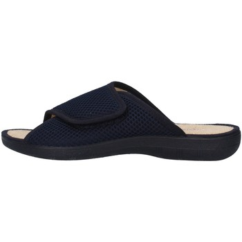 Schoenen Dames Leren slippers Superga S10M624 BLUE
