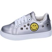 Schoenen Meisjes Lage sneakers Smiley  Zilver