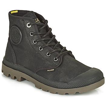 Schoenen Laarzen Palladium PAMPA CANVAS Zwart