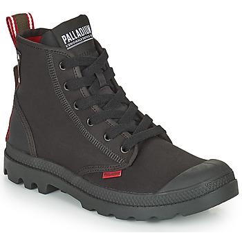 Schoenen Laarzen Palladium PAMPA METRO Zwart