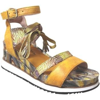 Schoenen Dames Sandalen / Open schoenen Laura Vita Hecio 11 Geel leer