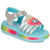 Schoenen Meisjes Sandalen / Open schoenen Skechers SUNSHINES/FAIRY HEARTS Multicolour