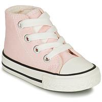 Schoenen Meisjes Hoge sneakers Citrouille et Compagnie NEW 19 Roze