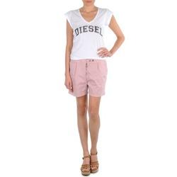 Textiel Dames Korte broeken / Bermuda's Diesel HANTU Roze