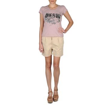 Textiel Dames Korte broeken / Bermuda's Diesel HANTU Beige