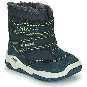 Schoenen Jongens Snowboots Citrouille et Compagnie POUDOU Blauw / Groen