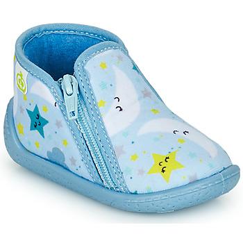 Schoenen Kinderen Sloffen Citrouille et Compagnie PIFOU Blauw