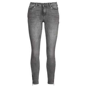 Textiel Dames Skinny jeans Noisy May NMKIMMY Grijs