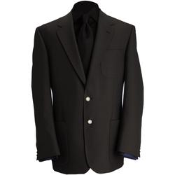Textiel Heren Jasjes / Blazers Brook Taverner BR051 Zwart