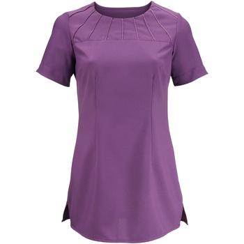 Textiel Dames T-shirts korte mouwen Alexandra  Amethist