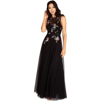 Textiel Dames Lange jurken Little Mistress  Zwart