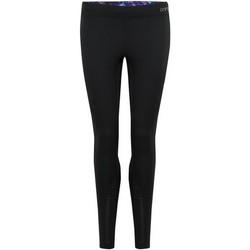 Textiel Dames Leggings Animal  Zwart