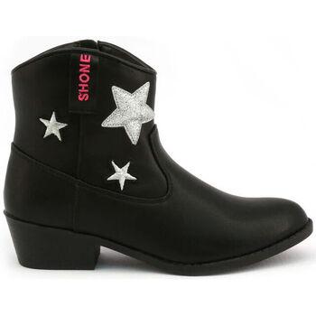 Schoenen Meisjes Enkellaarzen Shone - 026801 Zwart