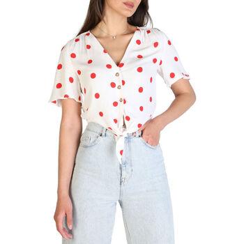 Textiel Dames Overhemden Tommy Hilfiger - dw0dw09511 Wit