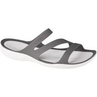 Schoenen Dames Leren slippers Crocs W Swiftwater Sandals Grise