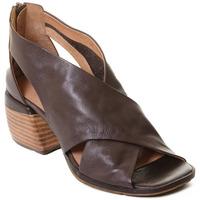 Schoenen Dames Sandalen / Open schoenen Rebecca White T0409 |Rebecca White| D??msk?? kotn??kov?? boty z telec?? k??e v k??vo