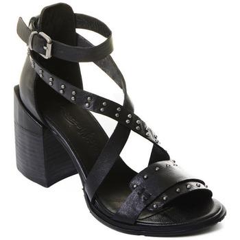 Schoenen Dames pumps Rebecca White T0501 |Rebecca White| D??msk?? sand??ly na vysok??m podpatku z ?ern??