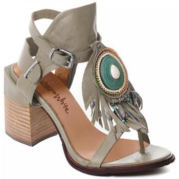 Schoenen Dames pumps Rebecca White T0509 |Rebecca White| D??msk?? sand??ly na vysok??m podpatku z hov??z?