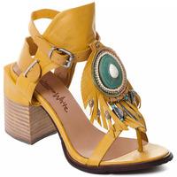 Schoenen Dames pumps Rebecca White T0509 |Rebecca White| D??msk?? sand??ly na vysok??m podpatku z okrov??