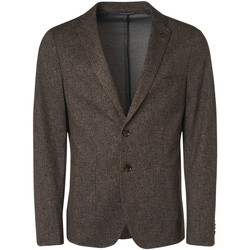 Textiel Heren Colberts No Excess 97910915 Bruin