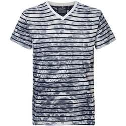 Textiel Heren T-shirts korte mouwen Petrol Industries M-1010-TSV6740 Wit