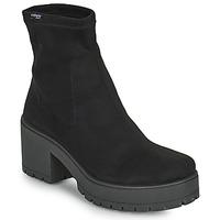 Schoenen Dames Hoge laarzen Victoria ATALAIA CHELSEA Zwart