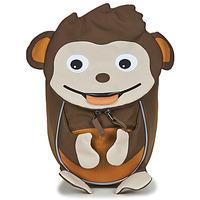 Tassen Kinderen Rugzakken Affenzahn MONKEY Bruin