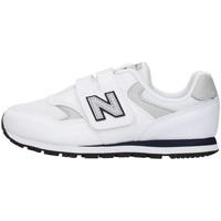 Schoenen Jongens Lage sneakers New Balance YV393CWN WHITE