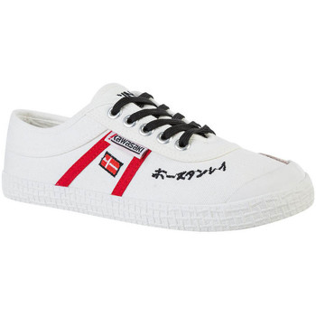 Schoenen Heren Lage sneakers Kawasaki Signature canvas shoe - white Wit