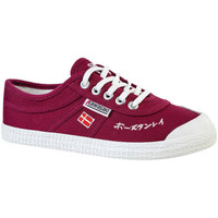 Schoenen Heren Lage sneakers Kawasaki Signature canvas shoe - beet red Bordeau