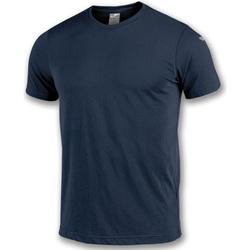 Textiel Jongens T-shirts korte mouwen Joma T-shirt  NIMES bleu marine