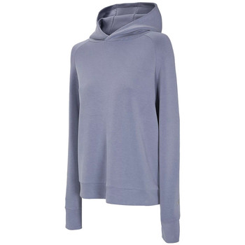 Textiel Dames Trainings jassen 4F Women's Hoodie Bleu