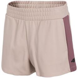 Textiel Dames Korte broeken / Bermuda's 4F Women's Shorts Rose