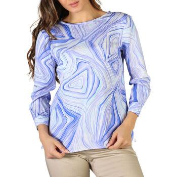 Textiel Dames Overhemden Fontana - chiara Blauw