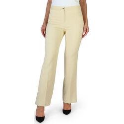 Textiel Dames Broeken / Pantalons Fontana - brenda Geel