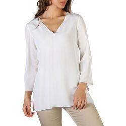 Textiel Dames Overhemden Fontana - katia Wit