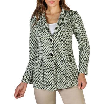 Textiel Dames Mantel jassen Fontana - emily Groen