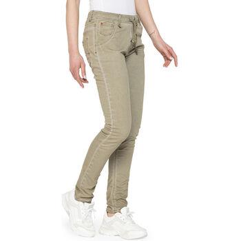 Textiel Dames Jeans Carrera - 750pl-980a Groen