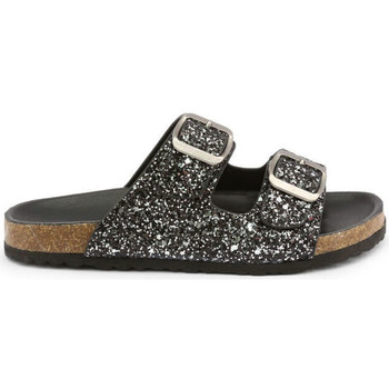 Schoenen Kinderen Leren slippers Shone - 026798-glitter Zwart