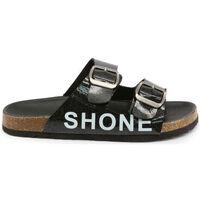 Schoenen Kinderen Leren slippers Shone - 026798 Zwart